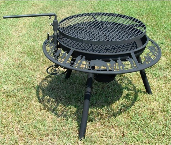 The Ultimate Bbq Steel Outdoor Fire Pit