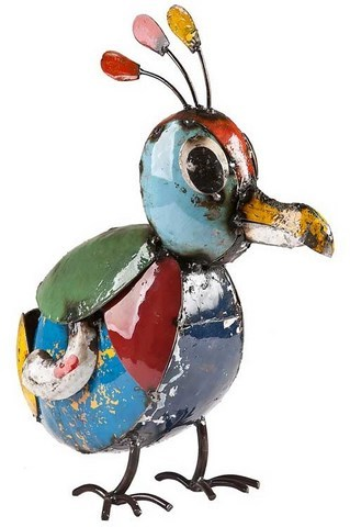 Eeieeio Billy The Baby Bird Metal Animal Art