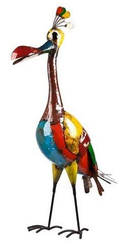 Eeieeio Barb The Mother Bird Metal Animal Art