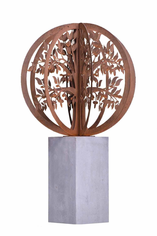 Outdoor Metal Sculpture Tree Of Life
