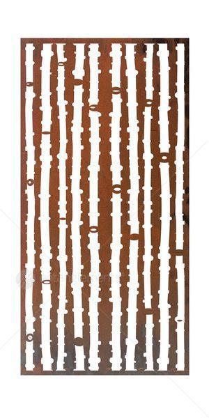 Laser Cut Screen Wall Art Bamboo