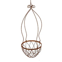 Metal Hanging Basket Garden Decor