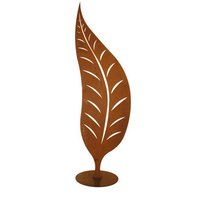 Mild Steel Outdoor Leaf Sculpture