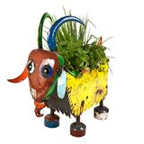 Billy the Goat Planter EEIEEIO Metal Animal Garden Art Sculpture