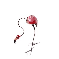 EEIEEIO Percy the Flamingo Outdoor Garden Sculpture