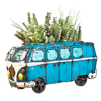 EEIEEIO Kombi Planter Recycled Outdoor Garden Art