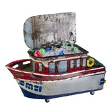 EEIEEIO Castaway Esky Cooler Outdoor Sculpture