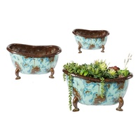 EEIEEIO Rub A Dub Tubs Set of 3 Outdoor Sculpture
