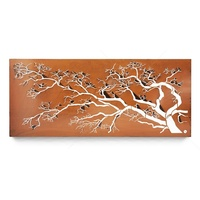 Wall Mounted Rustic Wall Art - Polarize Tree