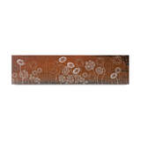 Laser Cut Mild Steel Wall Art - Blooms
