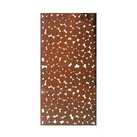 Mild Steel Partition Wall Art - Pebbles