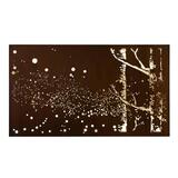 Fireflies Laser Cut Steel Wall Art