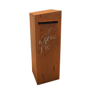 Gum Branch Outdoor Steel Letterbox