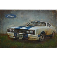 3D Steel Wall Art Painting Ford XC Cobra