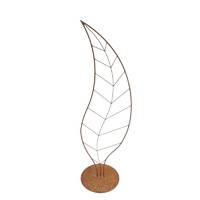 Leaf Outdoor Metal Garden Sculpture