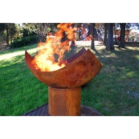 The Chalice Cast Iron Outdoor Fire Pit