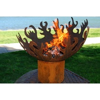 The Flame Dancer Cast Iron Outdoor Fire Pit