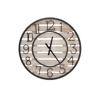 Ida Large Wooden Wall Clock