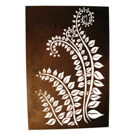 Laser Cut Wall Panel - Fronds Box
