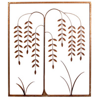 Willow Tree Panel Metal Garden Wall Art