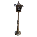 Cast Iron Garden Lamp