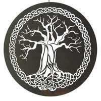 Outdoor Wall Scupture - Celtic Tree