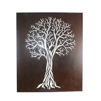 Laser Cut Wall Art - Flame Tree