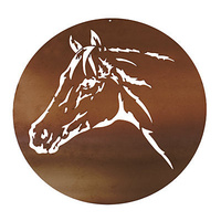 Mild Steel Wall Art - Horse