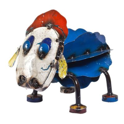 EEIEEIO Ewe the Sheep Metal Animal Art
