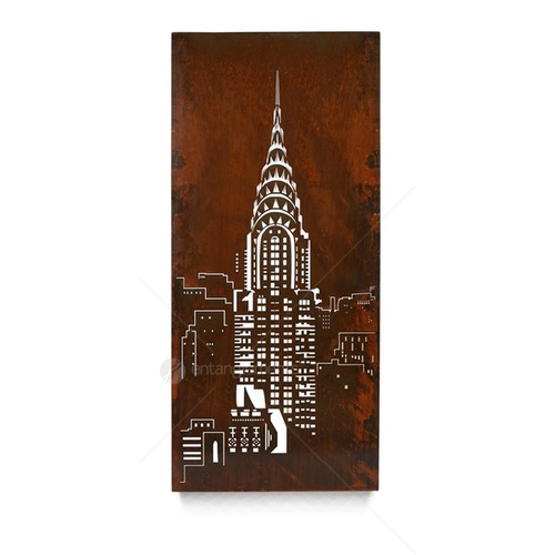 Textural Wall Art - Chrysler Building