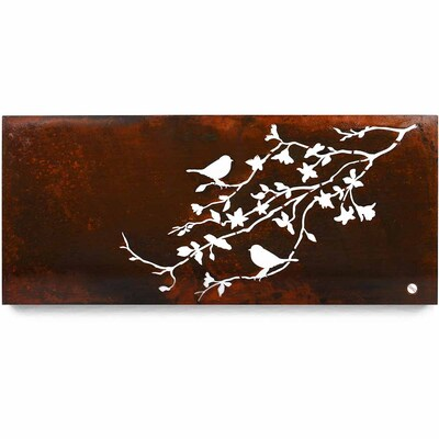 Architectual Wall Art - Branch Summer - Large Light