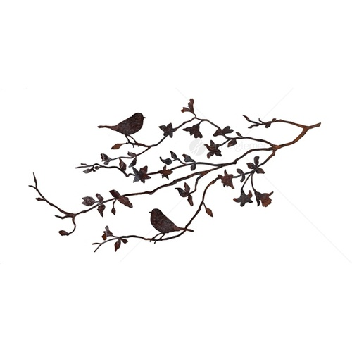 Laser Cut Wall Mounted Decor - XL Summer Branch