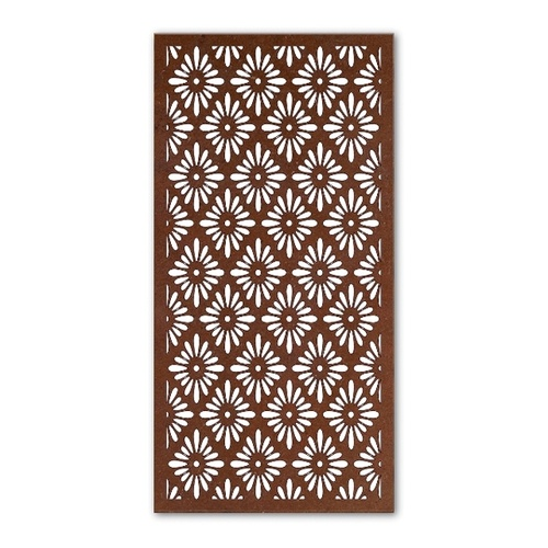 African Daisy Outdoor Metal Wall Art