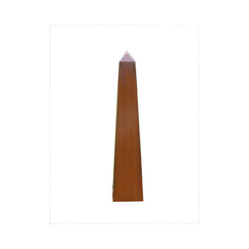 Garden Obelisk Plain Outdoor Sculpture