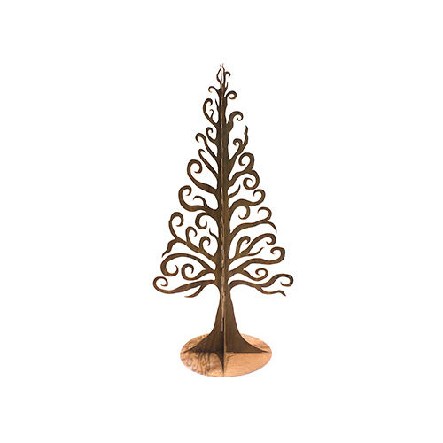 Christmas Tree Mild Steel Outdoor Garden Sculpture Large