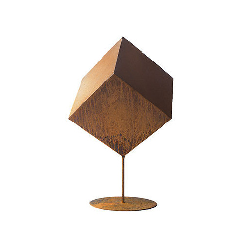 Cube Outdoor Metal Art Sculpture