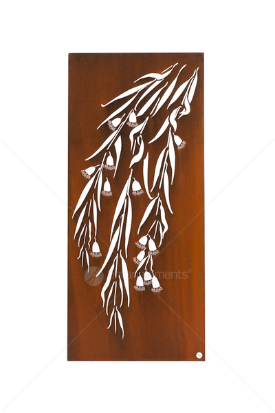 Laser Cut Natural Rust Wall Art Snowgum