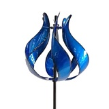 Tulip Outdoor Windmill Blue