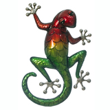 Cheeky Gecko Garden Metal Wall Art