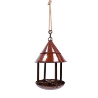 My Piece of Africa Rust Bird Feeder Hanging