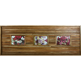 Vintage Strip Natural 3 Multi Photo Frame