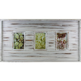 Rustic White 3 Multi Photo Frame