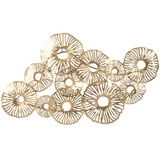 Clustered Cloud Metal Wall Art