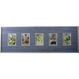 Vintage Strip Purple 5 Multi Photo Frame