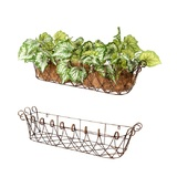 Wire Window Basket Planter Set 2