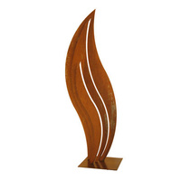 Mild Steel Flame 2 Outdoor Sculpture