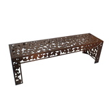 Autumn Leaves Garden Bench Seat
