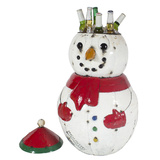 EEIEEIO Snowman Recycled Beverage Tub