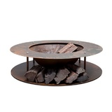 Outdoor Heating Wood Store Fire Pit