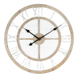 XL Scandi Geometric Wall Clock